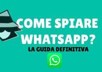 Guida per spiare whatsapp